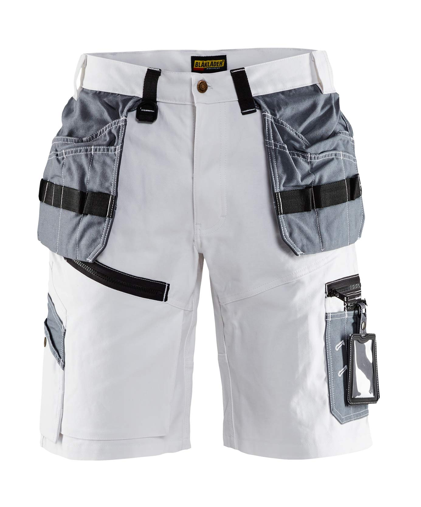 151212101094C44 Paint Shorts''x1500'' Size 30/32 (Metric Size C44) IN White/Grey