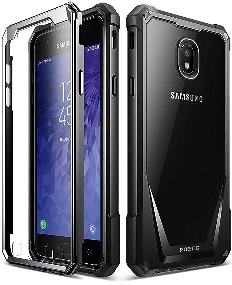 new product 7db8a d2c98 Amazon.com: Galaxy J3 2018 Rugged Case, Poetic Guardian Heavy Duty ...