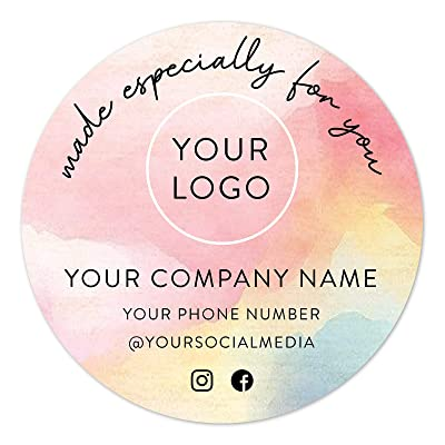 Custom Waterproof Labels Personalized Product Label Stickers For Your Business