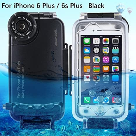 best loved 4bbc8 7ecab Amazon.com: TOOGOO for iPhone 6 Plus/ 6s Plus Underwater Housing ...