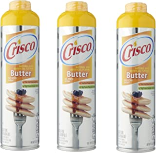 product image for Crisco Butter Flavor Non Stick Cooking Spray- 3 Pack