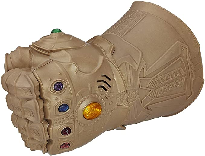 CPI Infinity Gauntlet Thanos Glove LED con magn/éticas Infinity Stones Halloween Cosplay Disfraz Prop Ni/ños Ni/ños