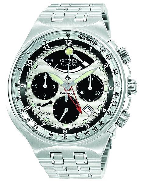 Citizen AV0031-59A - Reloj de cuarzo para hombre, correa de acero inoxidable: Amazon.es: Relojes