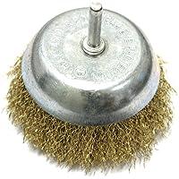 AERZETIX: Cepillo de alambre de metal 9cm. Adecuado