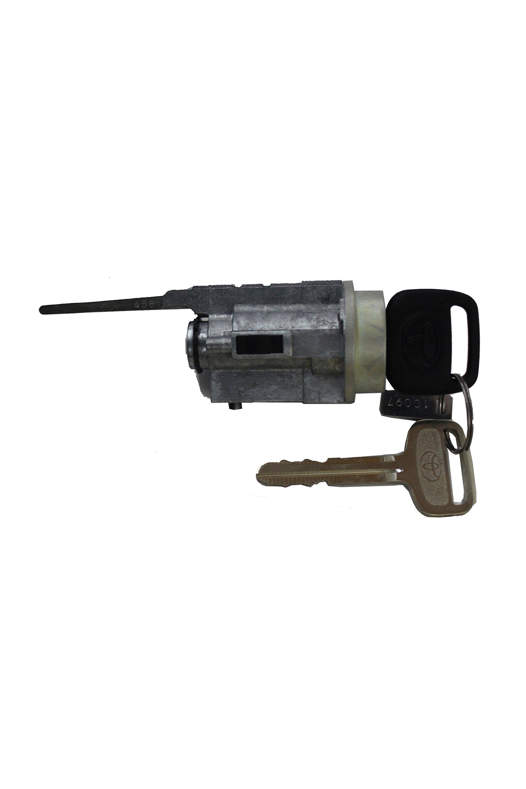 Genuine Toyota 69057-35070 Cylinder and Key Set