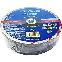 S&R Disco de corte 230 para Metal. Juego