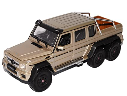 G63 Amg 6X6 >> Amazon Com Mercedes Benz G63 Amg 6x6 Diecast Model Car