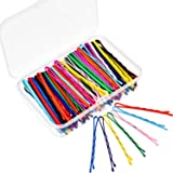 Bememo 100 Pieces Bobby Hair Pins Hair Styling Clips with 1 Storage Box for Girl and Women, 10 Colors