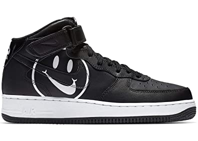 d6db946dc4e9 Nike Air Force 1 Mid 07 Lv8 2 Mens Mens Ao2444-001 Size 8 Black