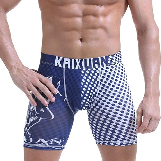 Amazon.com: paixpays para hombre Sexy traje de baño boxer ...