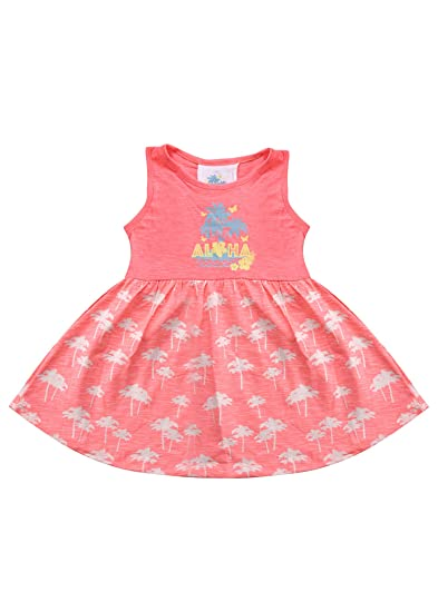 8e35337b65a940 Amazon.com: Kids Wear Baby Girl Sleeveless 100% Cotton Frock: Clothing