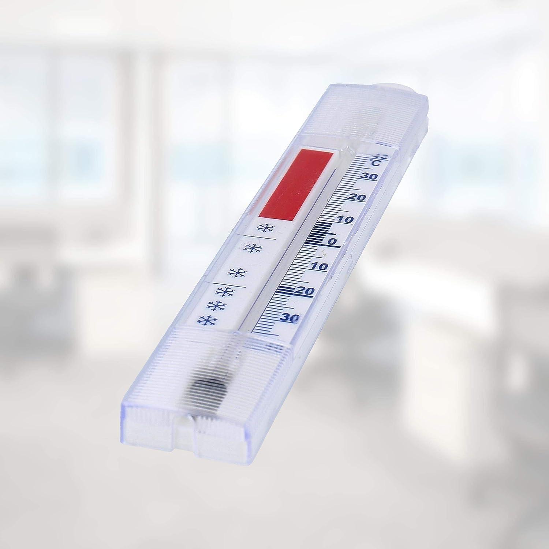 congelador refrigeraci/ón Temperaturanzige Lantelme 3294 10 pcs Set nevera // Con gancho de fabricaci/ón alemana 40 /°C term/ómetro anal/ógica y no contiene mercurio refrigerador