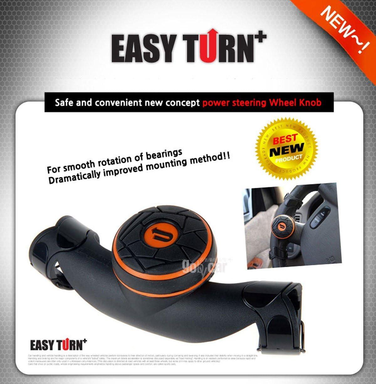 Nouveau Concept Lave-vaisselle Alimentation Poign/ée Volant de voiture Spinner bouton Accessoire slim
