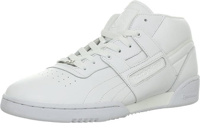 fluido Diariamente Por favor  Reebok Men's Workout MID Fashion Sneaker   Fashion Sneakers - Amazon.com