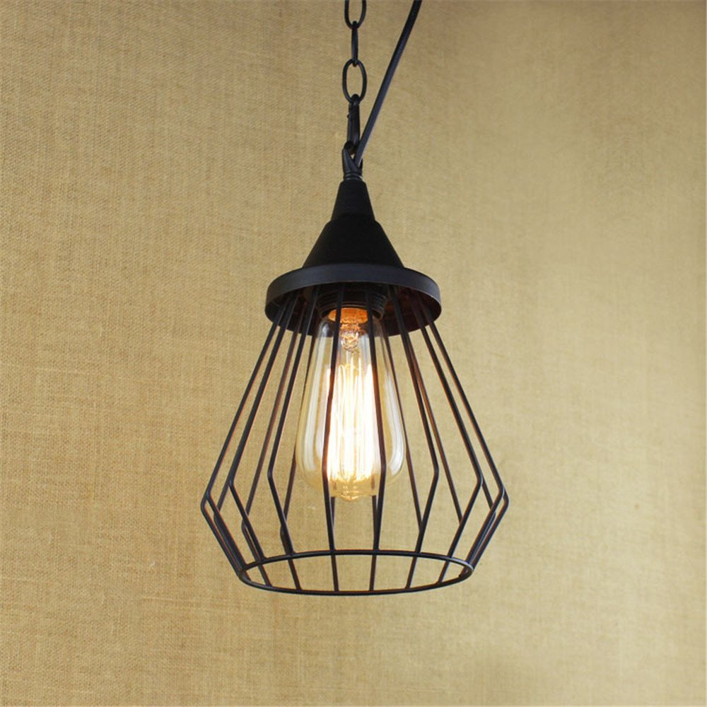 Modern LED Pendant Light Chandelier LED Pendant Lighting Apply to Contemporary Living Room Bedroom Dining Room Sepia Effect Movie Scene Living Room Stairs in-Room Iron Chandeliers 180mm260mm
