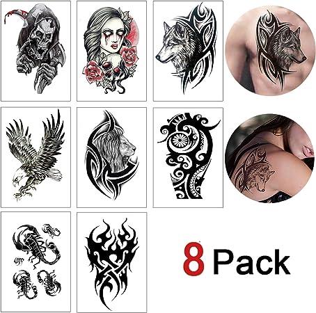 Tatuaje efímero hombre mujer Gemelos, falso tatuaje brazo para ...