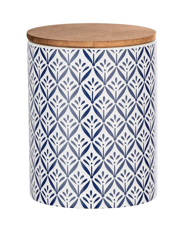 Frischhaltedose mit Bambusdeckel und Silikonring luftdicht /& aromafrisch Fassungsverm/ögen 0.95 l Wenko Aufbewahrungsdose Lorca 0,95 l Vorratsdosen