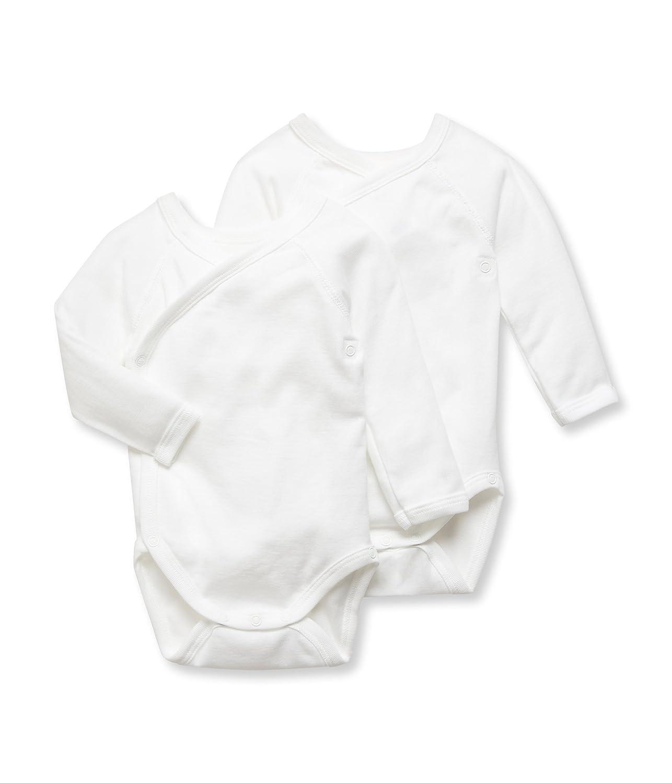 Petit Bateau Unisex Baby Body, 2er Pack