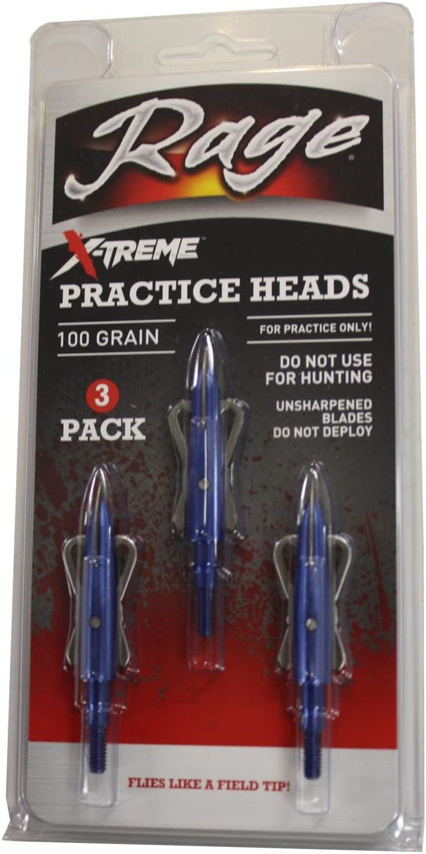 Rage X-treme Two Blade Practice Head(pack of 3)
