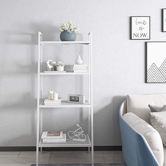 Editors' Choice: Rapesee Multifunctional Metal 4 Shelf Bookcase