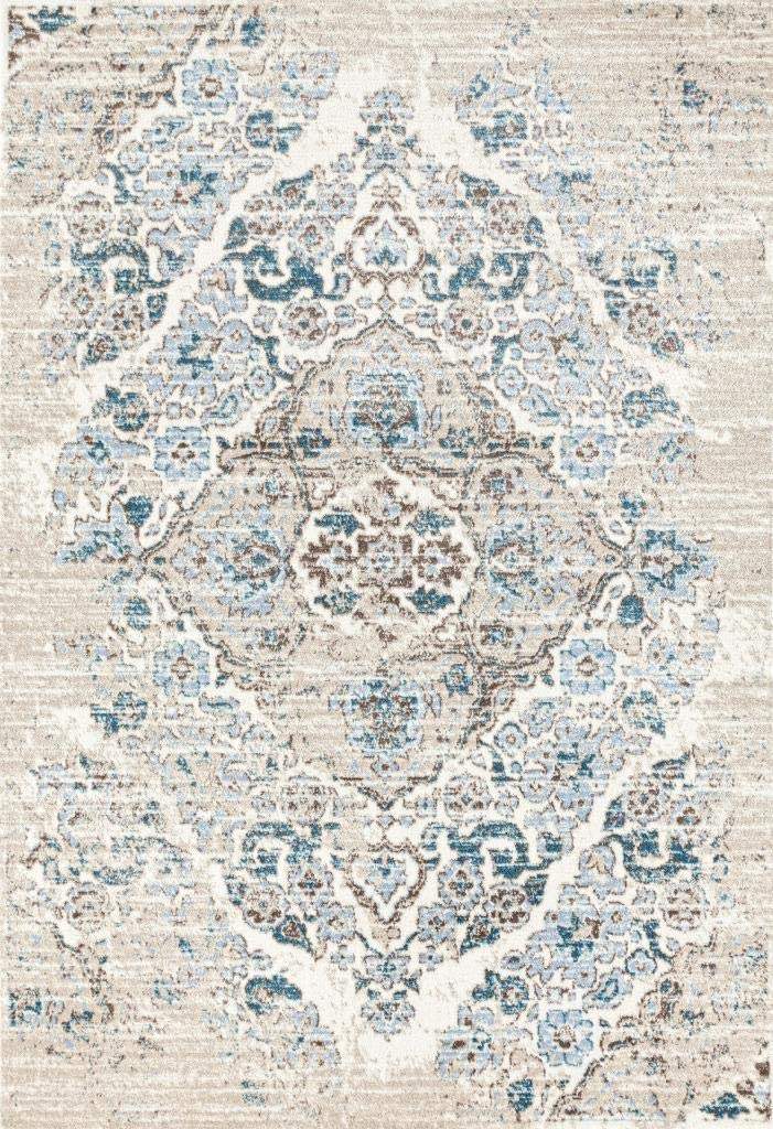 4620 Distressed Cream 2'0x3'0 Area Rug Carpet Large New