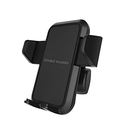 Car Phone Mount Phone Holder for Car,Easy One Touch Design Cell Phone Holder for iPhone Xs XS Max X 8 8 Plus 7 7 Plus SE 6s 6 Plus 6 5s 5 4s 4 Samsung ...