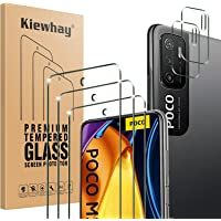 Kiewhay Schermbeschermer Compatibel met Xiaomi Redmi Note 10 5G/ Poco M3 Pro 5G Screen Protector 6,5'', 3x Gehard Glas…