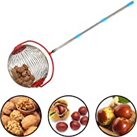Harrms Large Nut Gatherer, Rolling Nut Harvester Ball Picker for Walnuts,Pecans,Acorns,Small Fruit and More