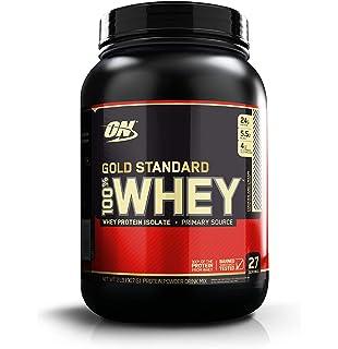 Optimum Nutrition Gold Standard 100% Whey Proteína en Polvo, Galletas y Crema - 908