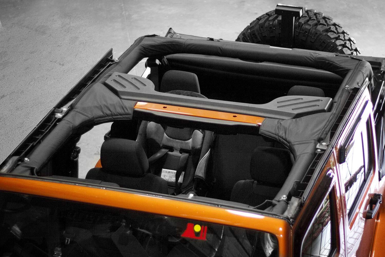 Rugged Ridge 13613.01 Black Polyester Roll Bar Cover