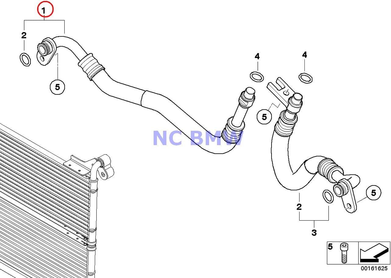 Amazon.com: BMW Genuine Engine Oil Cooler Pipe Flow Engine Oil Cooler Pipe 535i  535xi 535xi: Automotive | 2008 535i Engine Diagram |  | Amazon.com