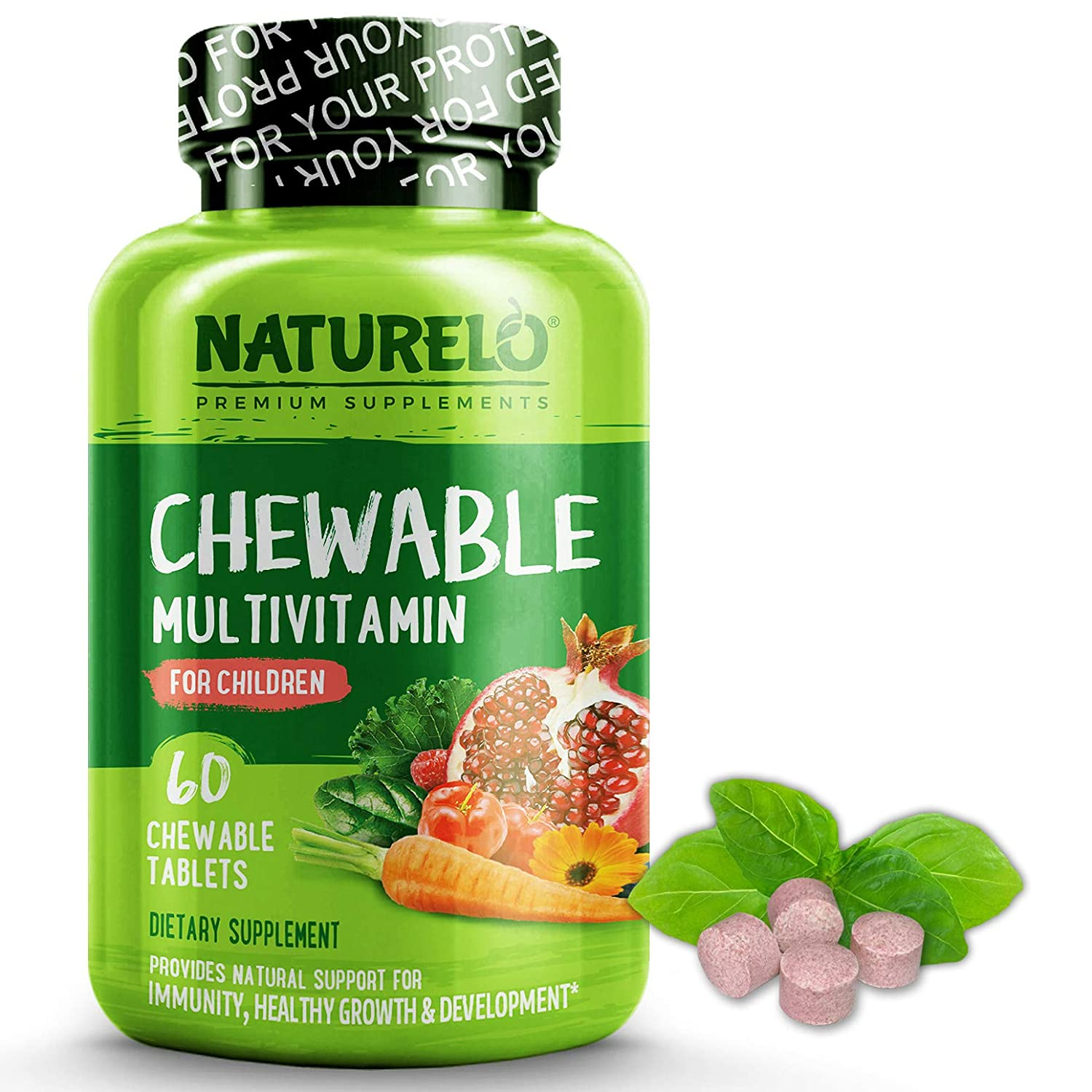 Amazon.com: NATURELO multivitamínico masticable para ...