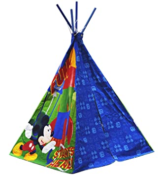 Disney Mickey Mouse Play Tent  sc 1 st  Amazon.com & Amazon.com: Disney Mickey Mouse Play Tent: Toys u0026 Games