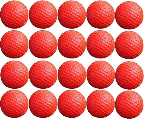 20 pelotas de golf, wolfbush espuma pelotas de práctica interior ...