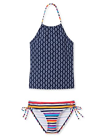 e611e3621c5f68 Schiesser Mädchen Aqua Tankini Bikini