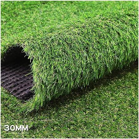 ALGWXQ Césped Artificial Protección Medio Ambiente Natural Jardín Infancia El Centro Comercial Empresa Hierba Falsa, 7 Tipos Verde, Tamaño Personalizable (Color : D, Size : 2x25m): Amazon.es: Hogar