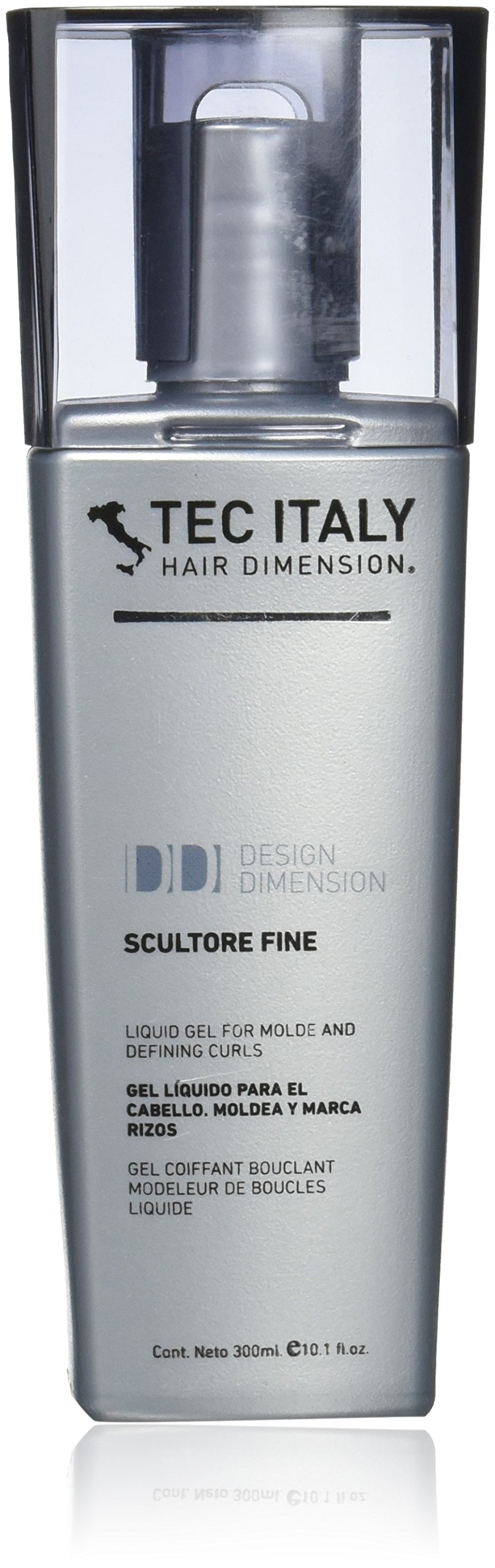 Tec Italy Scultore Fine Liquid Hair Gel for Sculpt & Define Curls - 300 ml
