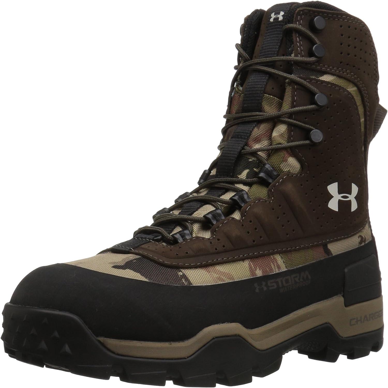 Under Armour Women's Browe 2.0 400G Ankle Boot, Ridge Reaper Camo Ba (901)/Maverick Brown, 11