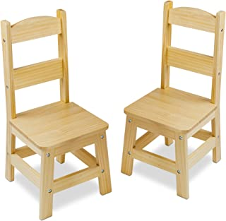 Melissa u0026 Doug Solid Wood Chairs Set of 2 - Light Finish Furniture for Playroom  sc 1 st  Amazon.com & Amazon.com: KidKraft Art Table with Drying Rack and Storage: Toys ...