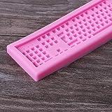 Junlinto 3D Silicone Mold Mini Keyboard Shape