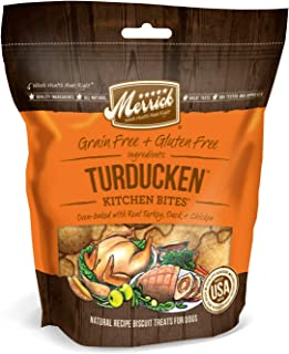 product image for Merrick Kitchen Bites Dog Treats - Turducken 9 oz - Pack of 3