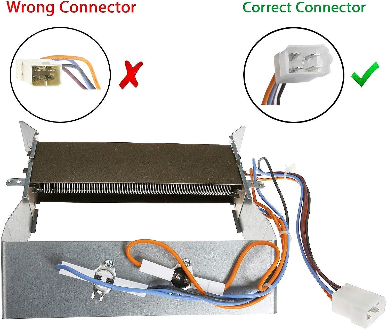 First4spares de repuesto 2200 W resistencia y termostatos para lavadoras Hotpoint secadoras