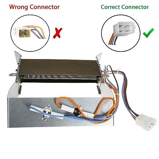 First4spares de repuesto 2200 W resistencia y termostatos para ...