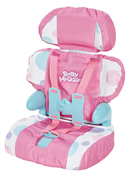 Cadson Car Seat And Booster With Seatbelt For Dolls Stuffed Animals