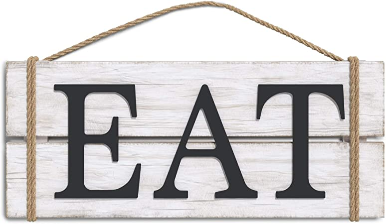 """farmhouse wood sign KITCHEN wooden rustic welcome home decor country 14/""""by 5.5/'/'"""