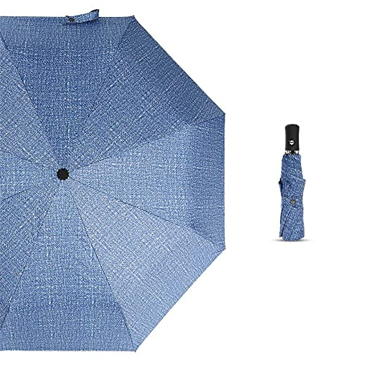 JUNDY Paraguas Plegable con Compacto y Ligero a Prueba de Viento y ...