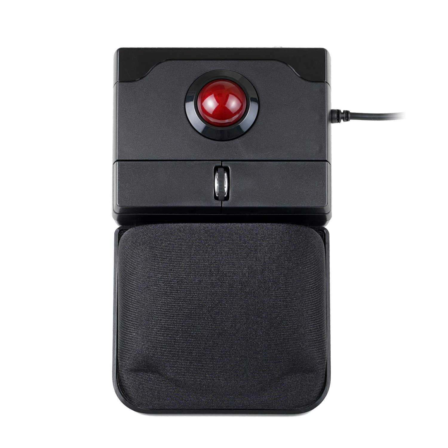 Perixx PERIPRO-506 Wired USB Trackball Mouse, Build-in 0.98 Inch Trackball for The Pointing Feature, Detachable Gel Palm Rest by Perixx