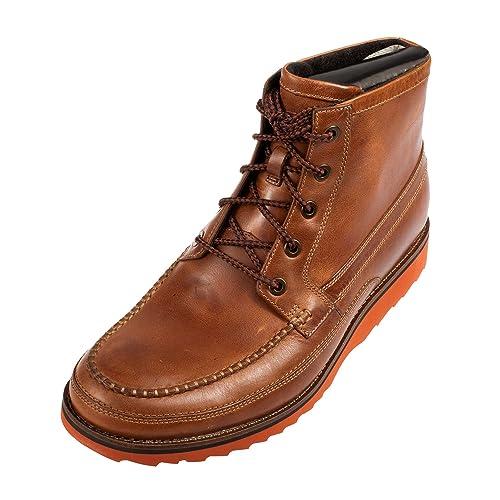 Rockport Mocasines para hombre TAWNY CHOCOLAT: Amazon.es: Zapatos y complementos