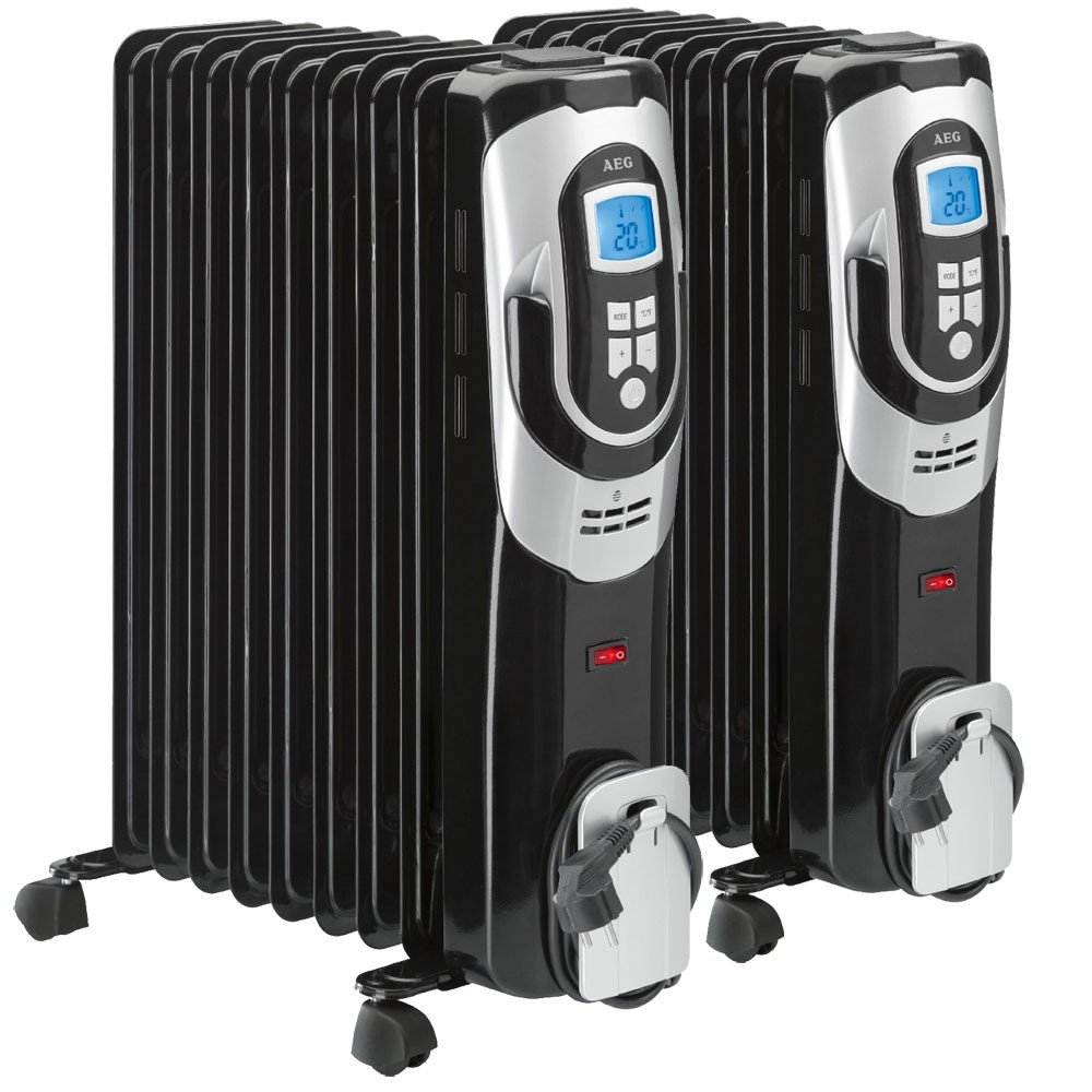 Conjunto de 2 radiador de aceite dispositivo móvil cuerpo de ...