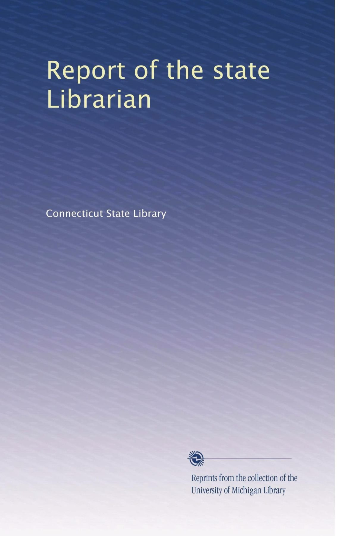 Report of the state Librarian (Volume 2) pdf epub